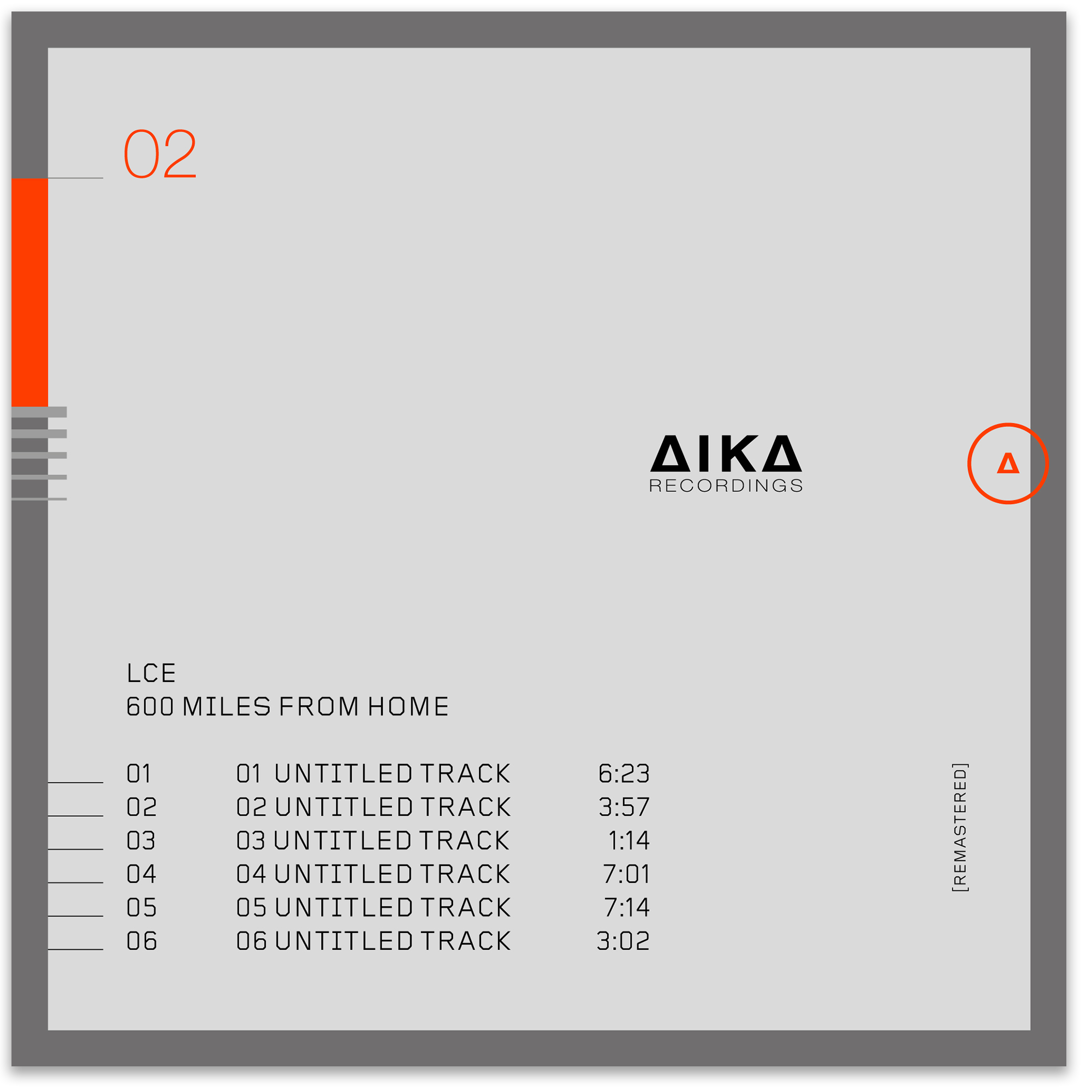 lce 600 miles from home aika recordings