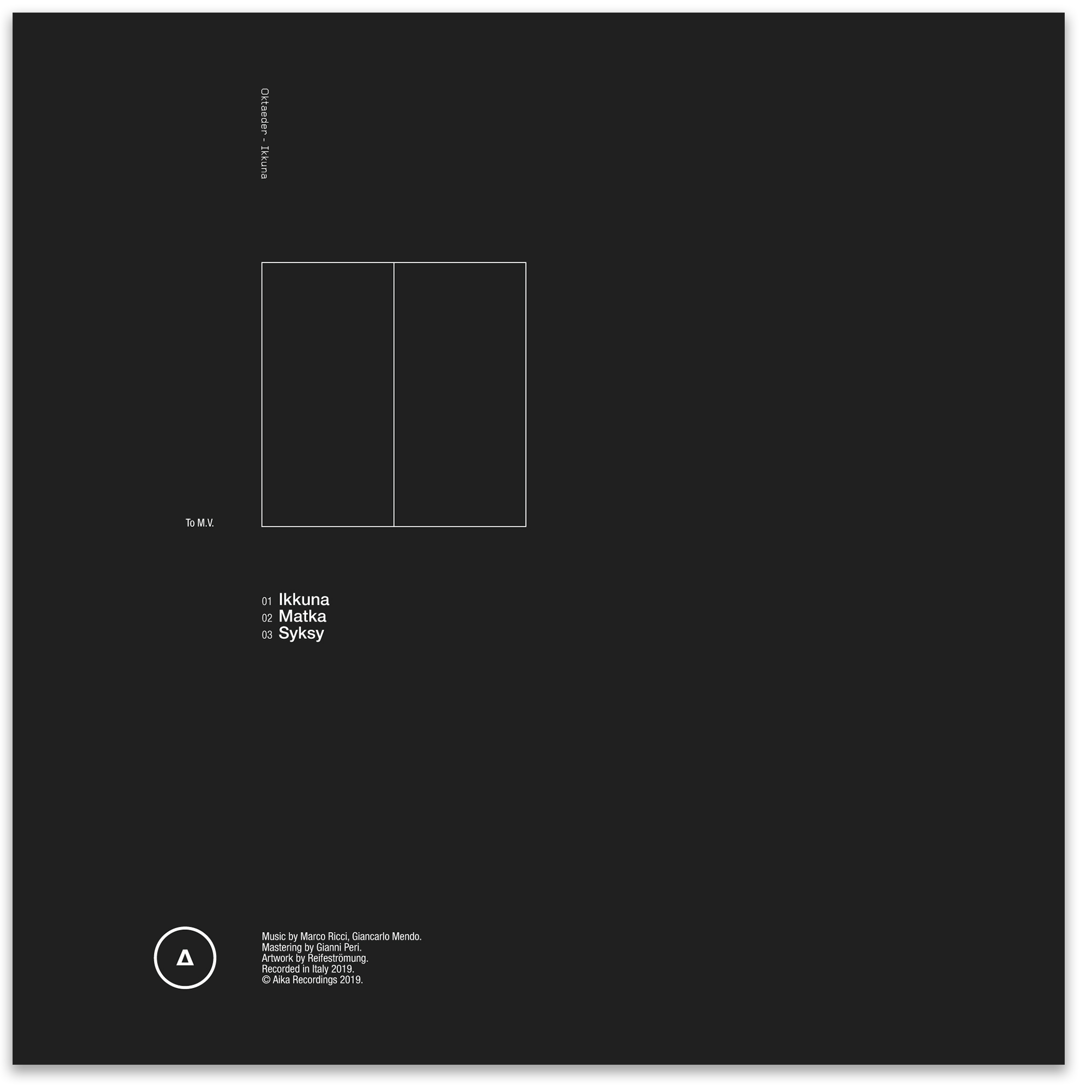 Oktaeder Ikkuna aika recordings