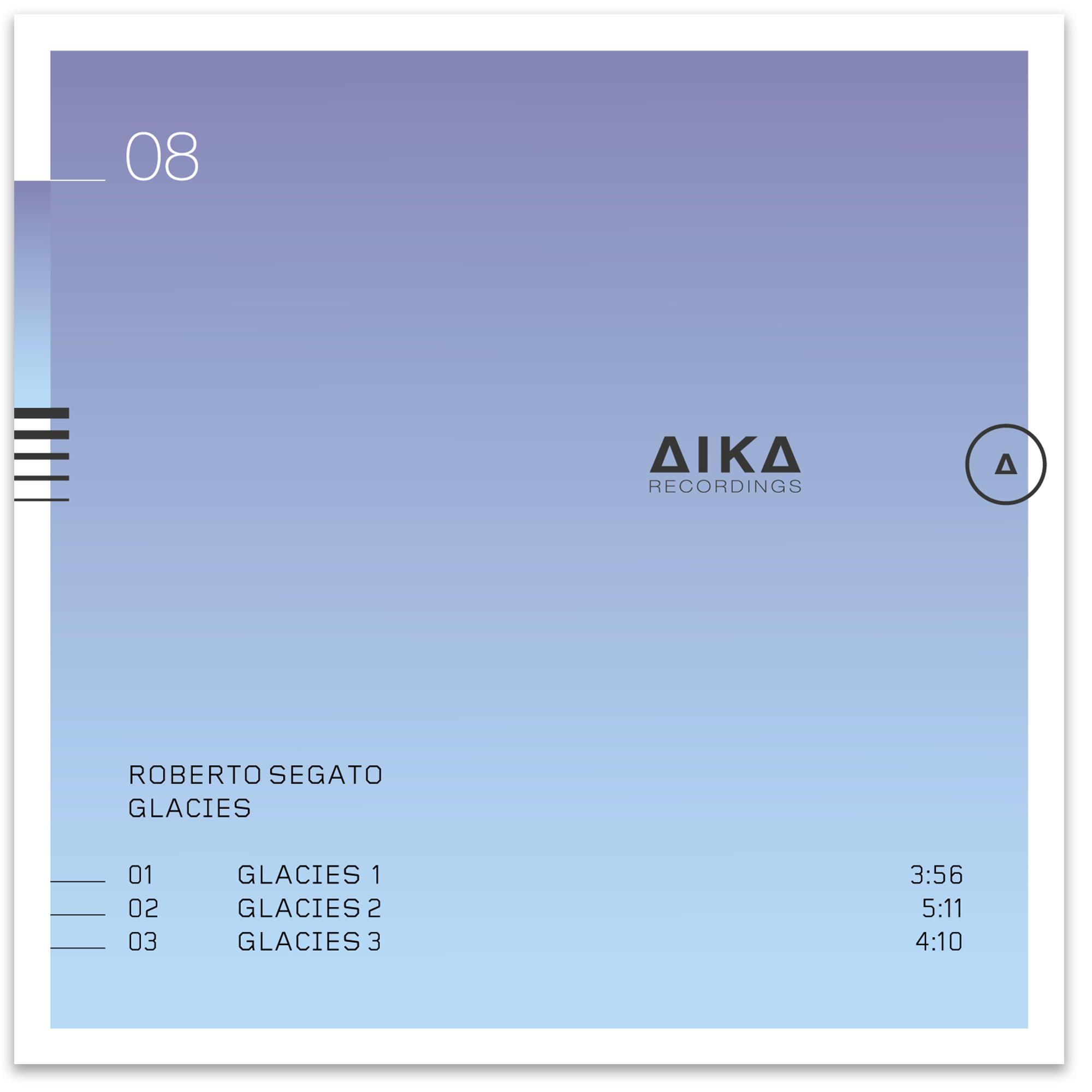 Roberto Segato Glacies AIKA Recordings